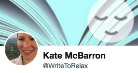 Kate McBarron Twitter profile